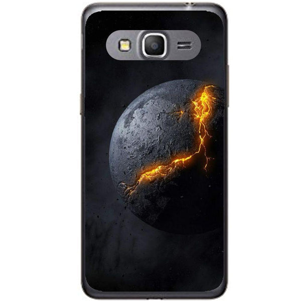 Phone Case Broken Dark Planet Samsung Galaxy Core Prime G360