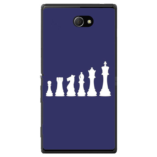 Phone Case Chess Sony Xperia M2 Dual D2302