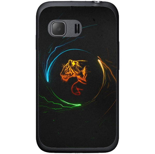 Phone Case Circle Tiger Samsung Galaxy Young 2 G130