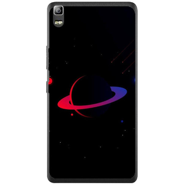 Phone Case Dark Red Planet Lenovo K3 Note A7000
