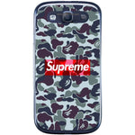 Phone Case Dark Supreme Camo Samsung Galaxy S3 Neo I9301 S3 I9300