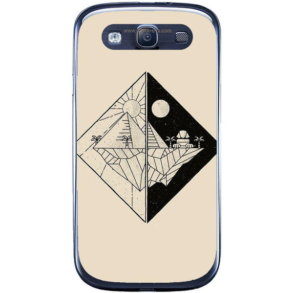 Phone Case Day And Night Samsung Galaxy S3 Neo I9301 S3 I9300