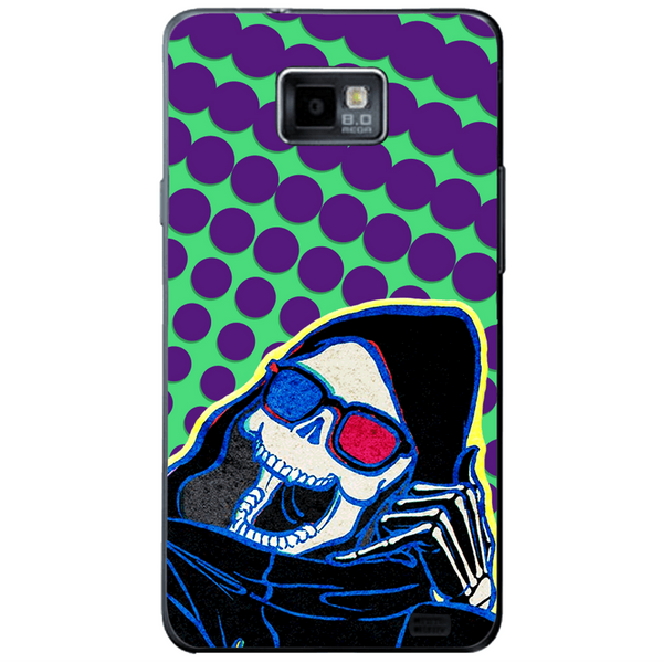 Phone Case Death Here SAMSUNG Galaxy S2