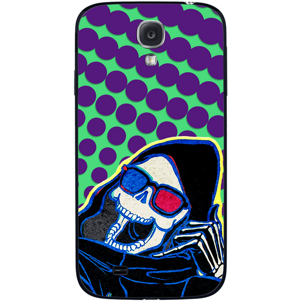 Phone Case Death Here SAMSUNG Galaxy S4