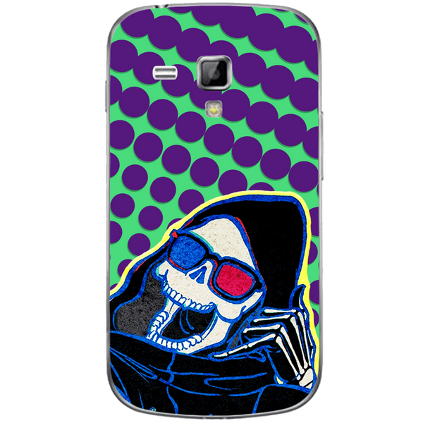 Phone Case Death Here SAMSUNG Galaxy S Duos