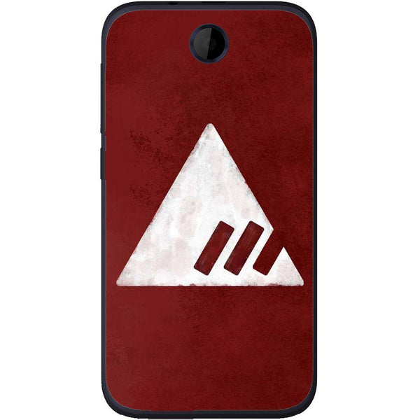 Phone Case Destiny Red Triangle HTC Desire 310