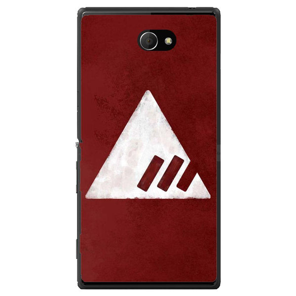 Phone Case Destiny Red Triangle Sony Xperia M2 Dual D2302