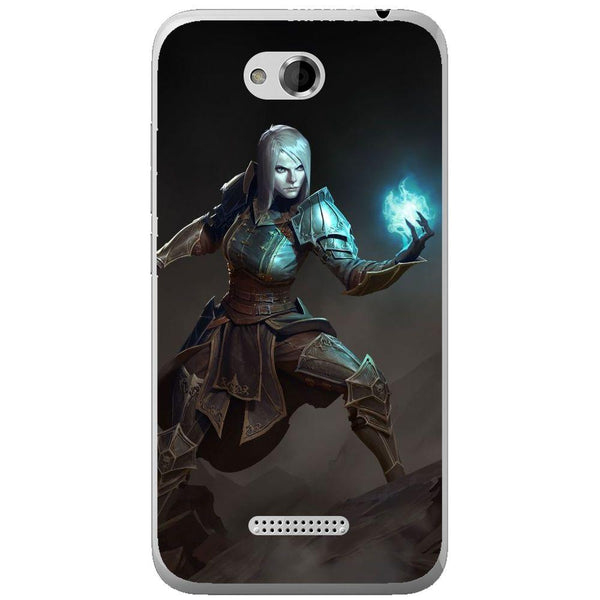 Phone Case Diablo 3 - Necromancer HTC Desire 616