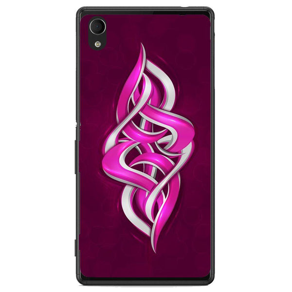 Phone Case Digital Graffiti Sony Xperia M4 Aqua E2303 6