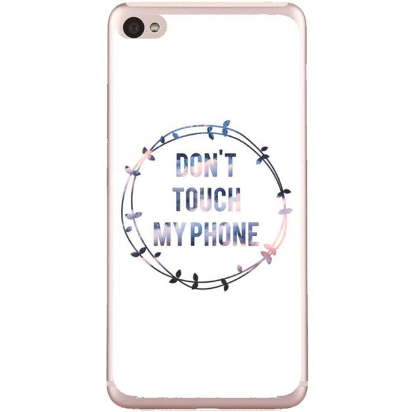 Phone Case Don T Touch My Phone Lenovo S90 Sisley