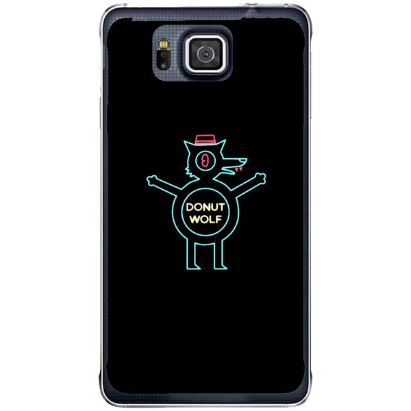 Phone Case Donut Wolf Samsung Galaxy Alpha G850