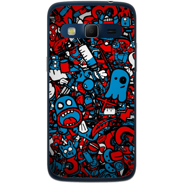 Phone Case Doodle Bomb Samsung Galaxy Express 2 G3815