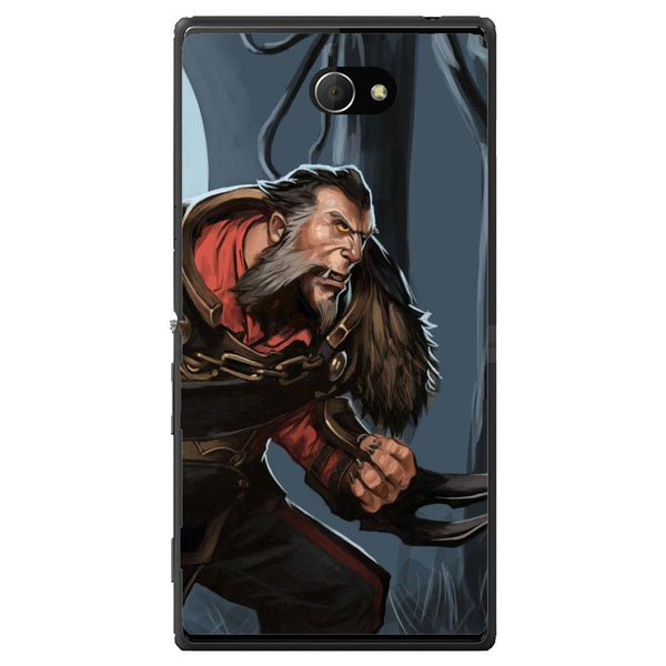Phone Case Dota 2 - Lycan Sony Xperia M2 Dual D2302
