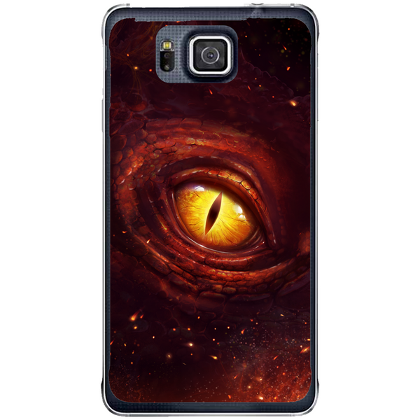 Phone Case Dragon Eye Samsung Galaxy Alpha G850