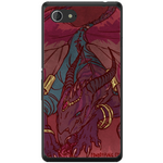 Phone Case Dragon Art Sony Xperia E3