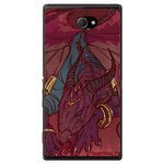 Phone Case Dragon Art Sony Xperia M2 Dual D2302