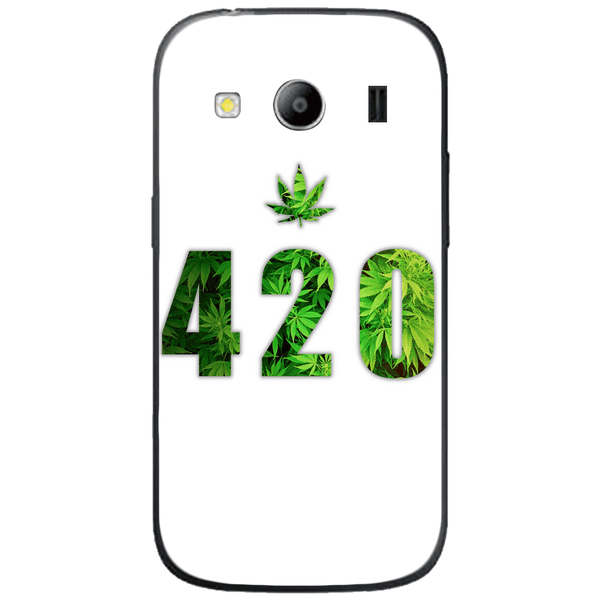 Phone Case Green 420 SAMSUNG Galaxy Ace 4 Style