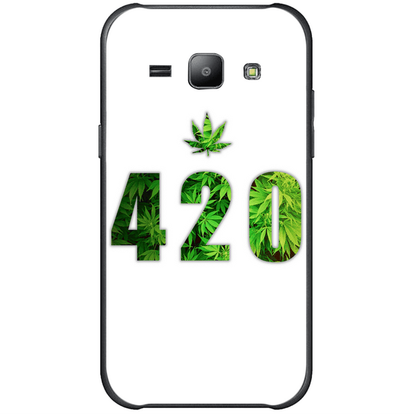 Phone Case Green 420 SAMSUNG Galaxy J1 Ace