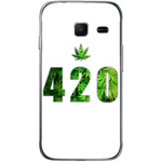 Phone Case Green 420 SAMSUNG Galaxy J1 Mini