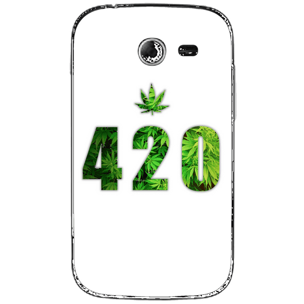 Phone Case Green 420 SAMSUNG Galaxy Pocket 2