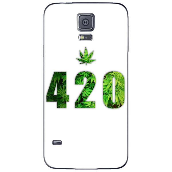 Phone Case Green 420 SAMSUNG Galaxy S5