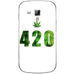 Phone Case Green 420 SAMSUNG Galaxy S Duos