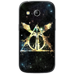 Phone Case Harry Potter Deathly Hallows SAMSUNG Galaxy Ace 4 Style
