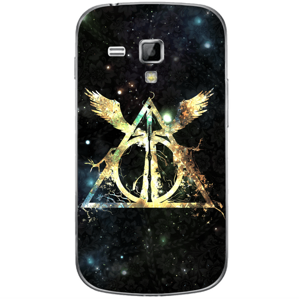 Phone Case Harry Potter Deathly Hallows SAMSUNG Galaxy S Duos