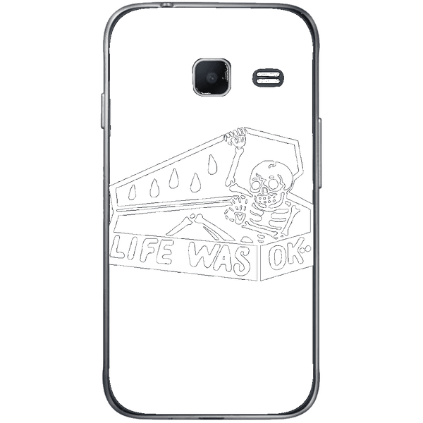 Phone Case Life Was Ok SAMSUNG Galaxy J1 Mini