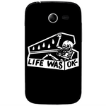 Phone Case Life Was Ok SAMSUNG Galaxy Pocket 2