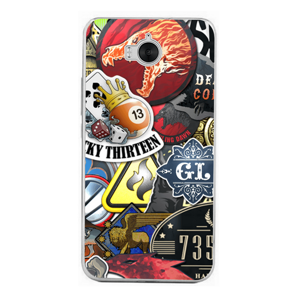 Phone Case Stickers Bomb HUAWEI Ascend Y6 2017 - Guardo - Guardo,