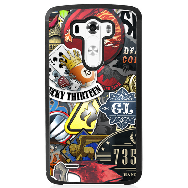 Phone Case Stickers Bomb LG G3 Mini - Guardo - Guardo,