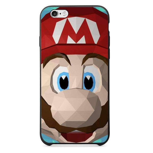 Phone Case Super Mario Low Poly APPLE Iphone 6 Plus - Guardo - Guardo,