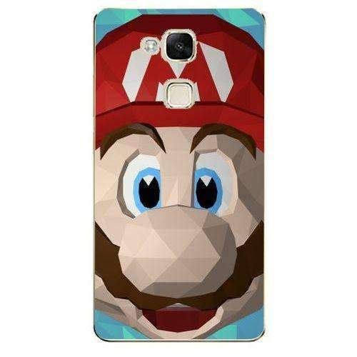 Phone Case Super Mario Low Poly HUAWEI Ascend Mate 7 - Guardo - Guardo,