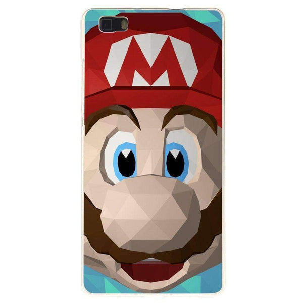 Phone Case Super Mario Low Poly HUAWEI Ascend P8 - Guardo - Guardo,