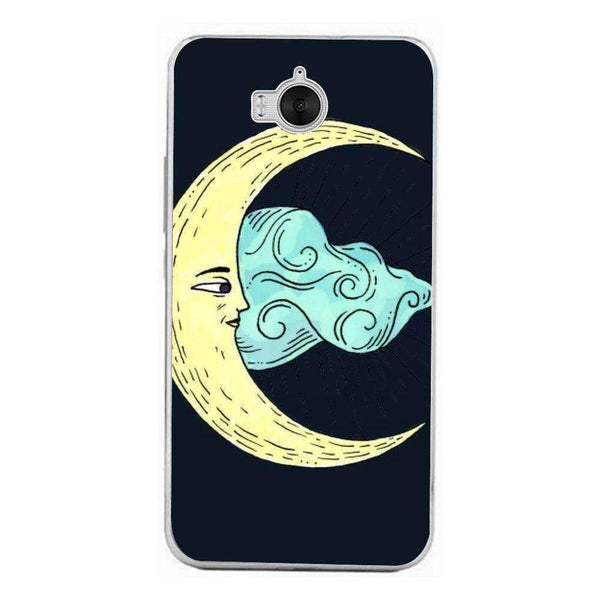 Phone Case The Moon HUAWEI Ascend Y6 2017 - Guardo - Guardo,