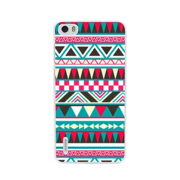 Phone Case Triangle Pattern HUAWEI Ascend P7 - Guardo - Guardo,
