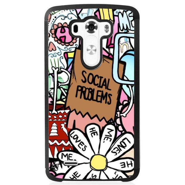 Phone Case Tumblr Stickers LG G4 - Guardo - Guardo,