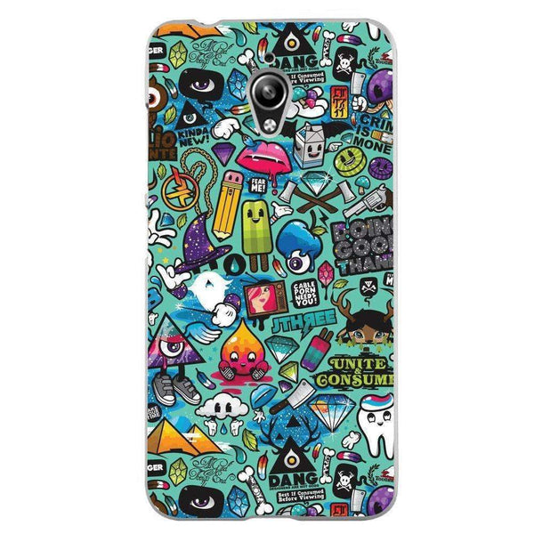 Phone Case Sticker Bomb ASUS Zenfone Go 5 Zc500tg - Guardo - Guardo,