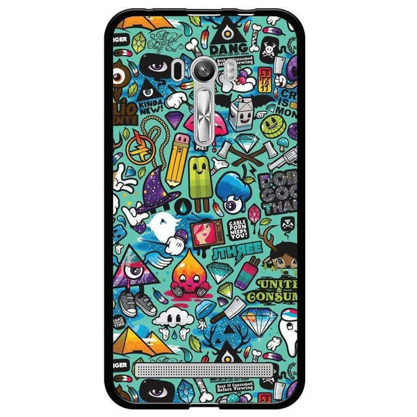 Phone Case Sticker Bomb ASUS Zenfone Selfie Zd551kl - Guardo - Guardo,