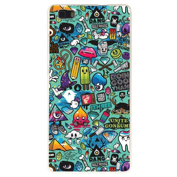 Phone Case Sticker Bomb HUAWEI Ascend P8 - Guardo - Guardo,