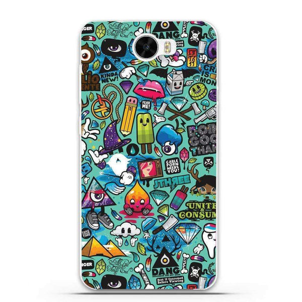 Phone Case Sticker Bomb HUAWEI Ascend Y5 Ii - Guardo - Guardo,