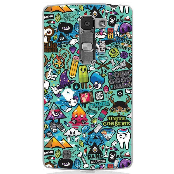 Phone Case Sticker Bomb LG Magna - Guardo - Guardo,