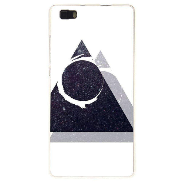 Phone Case Triangle Art HUAWEI Ascend P8 - Guardo - Guardo,