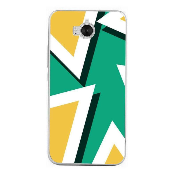 Phone Case Triangles Texture HUAWEI Ascend Y6 2017 - Guardo - Guardo,