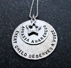 Apraxia Awareness Necklace