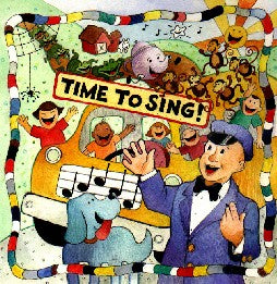 Time to Sing! CD
