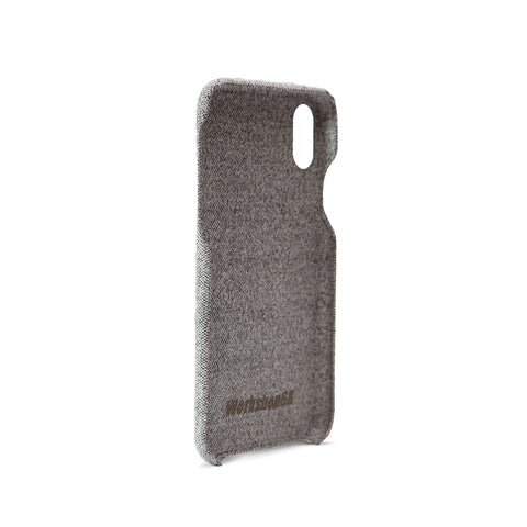 Static Grey Fabric iPhone Case | Workshop68