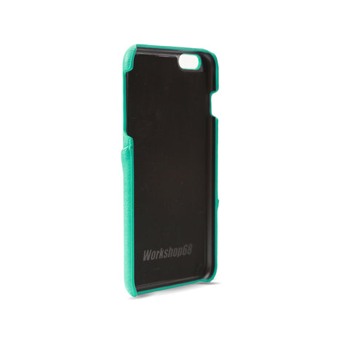 Turquoise Stitch Wallet iPhone Case | Workshop68