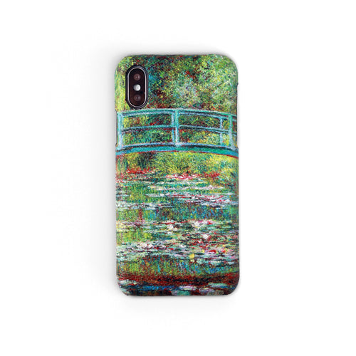 """Bridge Over a Pond of Water Lillies"" by Claude Monet 